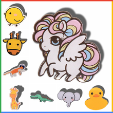 Kawaii Icon Harajuku Cute Symbol Badge Acrylic Brooch For Women/Man Clothes Badge Decorative Rozet Collar Scarf Lapel Pin Broach