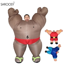 2017 New Inflatable Costume Mascot for Adult Cosplay Suit In Halloween Party Wearing Free with Elactronic Fans Pack(China)