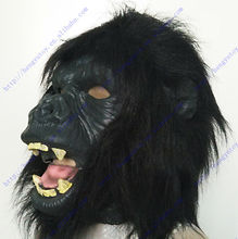 The highest selling Fancy Dress Ideal Classic Realistic Gorilla Mask for Halloween props