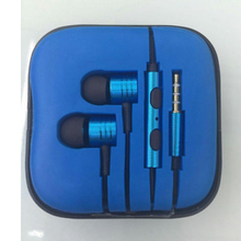 Fashion Earphone with Microphone for Mobile Phone MP3 MP4 with plugs To The Android Tablet Music Headset Ears (no box)