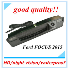 Free Shipping night vision auto Car Camera rearview Backup Reverse Camera Review Reversing Parking Kit for Ford Focus 2015 2016