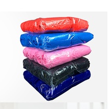 Plastic pocket Disposable rain cover for shoes waterproof indoor shoes pouch 10 Dozens 100PCS factory plant room using(China)