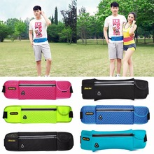5 Color 40*10cm Anti-theft Waist Pack Exercise Chest Waist Bag Waterproof Male Functional Fanny Bag Money Pocket Phone Belt Bag