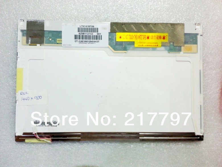The spot genuine original LTN141BT06/05 LP141WP1 T61 Z61T T400 R61 D620 D630 LCD Screen high score<br>