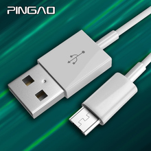 PINGAO Micro USB Cable 2A Fast Charge USB Phone Data Cable Samsung Xiaomi Android USB Charging Cord Microusb Charger Cable