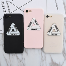 Annchep Brand NEW Soft Silicon TPU Palace Logo Case for iPhone 7, Fashion Phone Cover Coque for iPhone 5 5s SE 6 6s Plus 7Plus