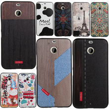 luxury New For HTC Desire 10 EVO Case Covers 3D Stereo Relief Painting Back Cover Mobile Phone Slim Silicon shell For HTC D10evo(China)