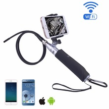 HD WiFi Endoscope Camera for Pipe Camera Waterproof 6 pcs White LED Bright light Endoscope Camera Snake tube Camera