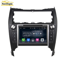 NAVITOPIA Octa Core HD Android 6.0 Car GPS Navigation For Toyota Camry 2012 Car DVD+ Radio Stereo+Bluetooth+WiFi+Mirror Link(China)