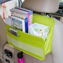 Travel Car Bag Organizer Auto Seat Back Storage Bag Multi Functional Organizer Pockets Hanging Backseat Organizing Box For Book