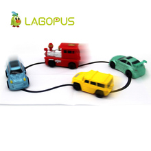 lagopus Magic Toy Truck Induction Car Truck Vehicles Toys for Children Magia Excavator Tank Construction Cars Free Shipping(China)