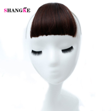 Buy SHANGKE 4 Colors Bang Natural Synthetic Fake Bangs Clip Hair Extensions Heat Resistant Hair Women for $5.05 in AliExpress store