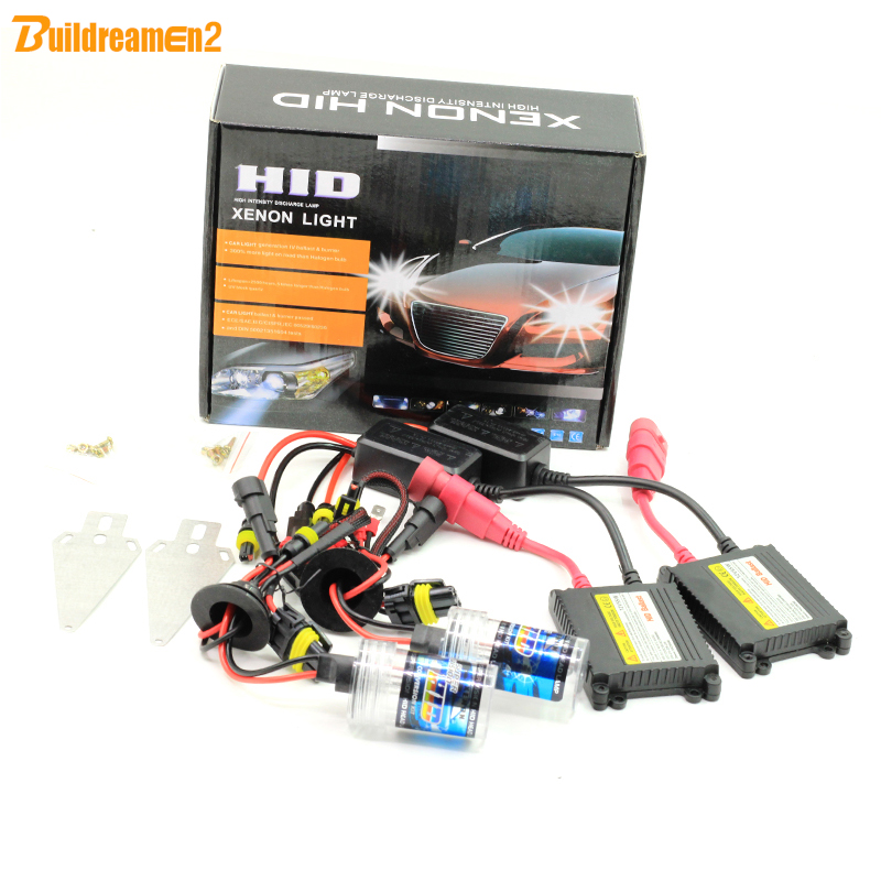 Buildreamen2 55W Xenon HID KIT Ballast Bulb 15000K 12V Car Headlight Fog Light DRL 880 881 9005 HB3 9006 HB4 H1 H3 H7 H8 H9 H11<br>