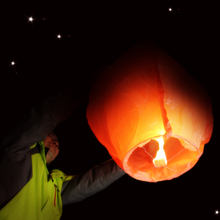 20pcs/lot Kongming Wishing Lantern Wedding Flying Balloon Chinese Sky Lantern Light Paper Lantern for Party Decorations