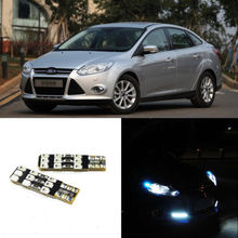 2pcs Advanced LED Width Lamps Car Wedge Warning Light Bulb For Ford Focus
