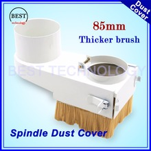 Buy New Arrival! Dust proof cover 85mm CNC Router Vacuum Cleaner Dust protection 85mm Spindle Dust Cover Drawer type CNC machine for $15.00 in AliExpress store