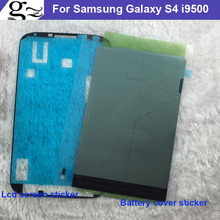 2PCS Adhesive Tape for Samsung Galaxy S4 S 4 i9500 i 9500 3M Glue Front LCD Supporting Frame Sticker Back Battery cover Tape