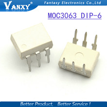 10PCS MOC3063 DIP6 DIP new and  original IC free shipping