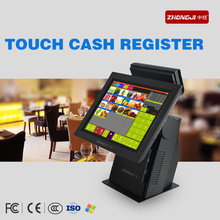 High Quality All in One PC Monitor Screen Pos Machine with LED8N Customer Display for Coffee Bar(China)