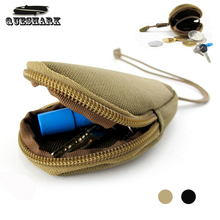 Zipper Car Key Pocket Organizer EDC Mini Tactical Small Wallet Roomy Coin Purse Outdoor Changes Key Pouch Money Bag Travel Kit(China)