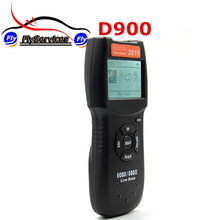 OBDII EOBD D900 Code Reader OBD2 Scanner Version 2016 Latest CAN-BUS Live Data DTC OBD Check Engine Multi-Brand Cars(China)