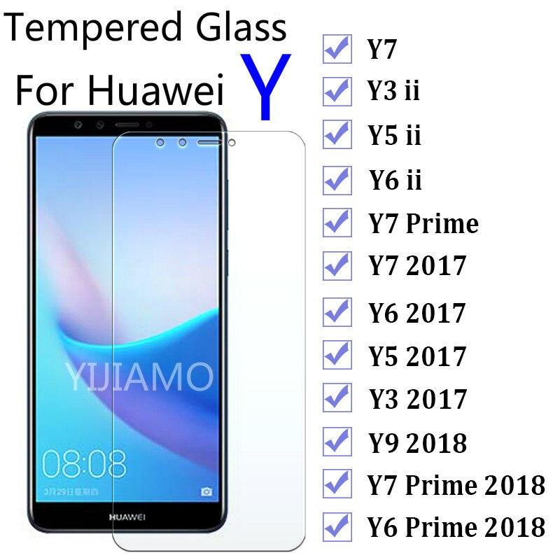 For-Huawei-Y6-Prime-2018-Glass-On-Huwei-Y7-Y9-Y3-Y5-ii-2017-Screen-Protector