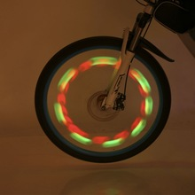 2017 New Flashing LED Bike Bicycle Cycling Wheel Wire Tyre Bright Spoke Light Lamp New Sports Bike Bicycle Lamp