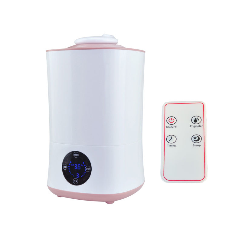 220V Humidifier Touch and Remote Control LED Display Ultrasonic Cool with Filter Humidity Mist Control Timing Water Shortage<br>
