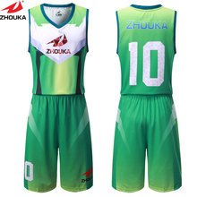 unique basketball design jersey,sublimation basketball uniform to create your basketball team jersey(China)
