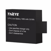 Portable Replacement Battery For ThiEYE i60e Long Service Life Easy To Carry Special Batteries For i60e Camera