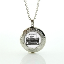 The chapter one case for  Once upon a Time  art  picture pendant necklace  jewelry accessories  for  man women and girls HH177