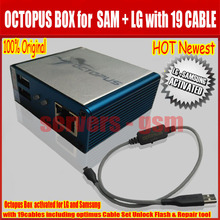 Latest Original Octopus box Full activated with optimus Cable Set for LG and for Samsung Unlock Flash & Repair New update for S5(China)