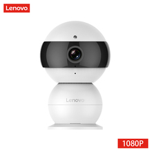 LENOVO Snowman IP Camera WiFi Wireless Mini HD 1080P Security Camera Baby Monitor & IR-CUT Surveillance Camera Motion Detection(China)