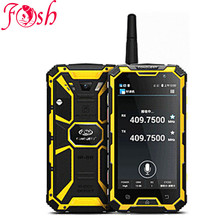 "Original Conquest S8 6000mAH Battery Quad Core 5"" HD Android 3GB RAM ip68 Rugged waterproof phone GPS 4G LTE FDD Walkie talkie(China)"