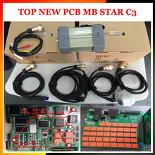 2017 best quality MB C3 Star Diagnosis MB Star C3 Multiplexer Diagnostic Tool All New NEC Relay Star c3 without software