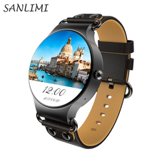 SANLIMI 2017 MTK6580 KW98 Smart Watch Android 5.1 3G WIFI GPS Watch Smartwatch iOS Android phone Xiao mi Better than KW88(China)