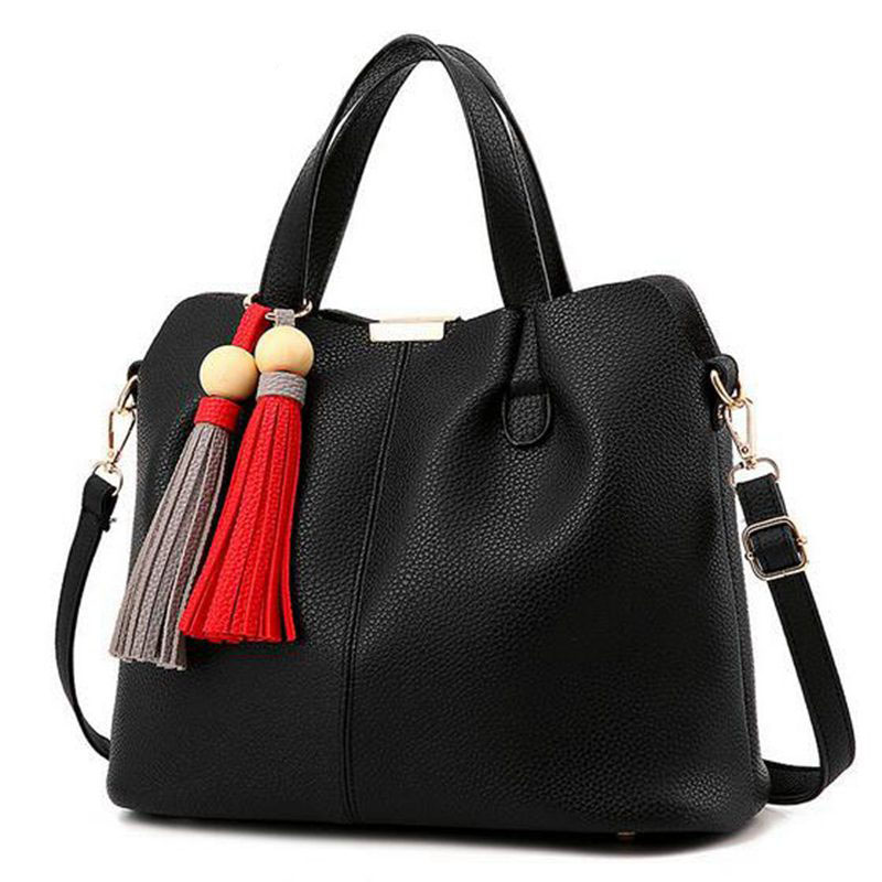 TOP Women Leather Handbags 2017 Famous Brand Women Messenger Shoulder Bags Large Capacity Tote Bag Female Handbags Women  PP-285<br><br>Aliexpress