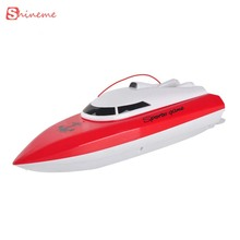 High quality charging outdoor toys remote control toys rc boat 4 Channels Waterproof Mini speed boat Airship gift for girls boys(China)