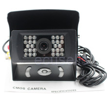 New Car Rear View Camera Bus HD Reverse Backup Camera Rearview Parking 28 IR Nightvision Waterproof 24V Bus Truck CMOS Camera