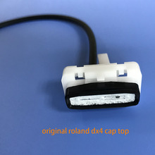Original Roland dx4 printhead cap top solvent for Roland SP 540 300 VP 540 300 RS 640 540 SJ745 SJ1000 XC540 printer