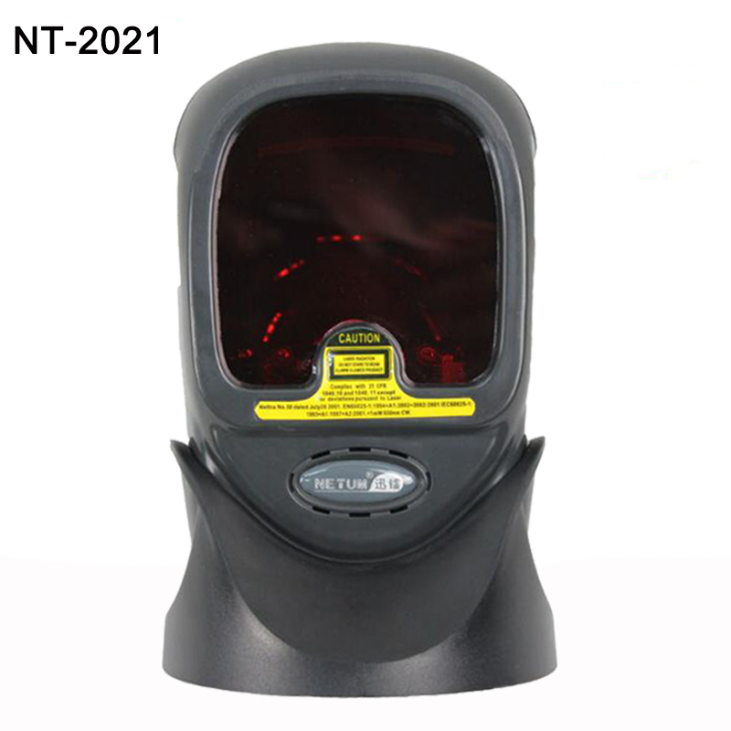 Desktop 20 Scan Lines Omni directional Barcode Scanner 1D laser high-tech fast and accurate code reader flatbed scanner<br><br>Aliexpress