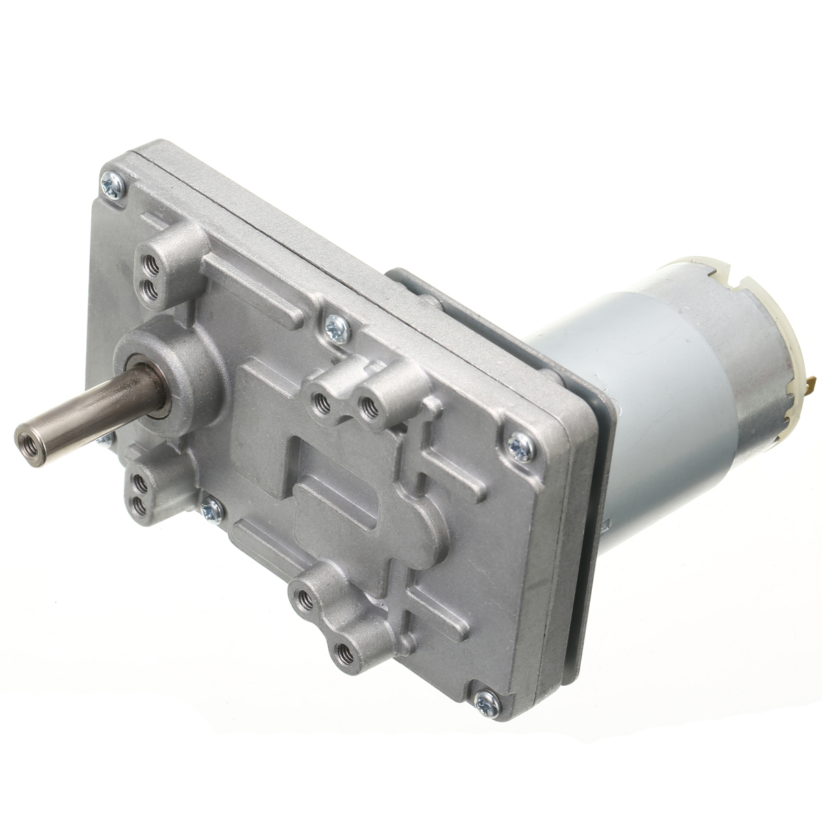 Durable DC12V-24V Takanawa 555 Gear Motor Metal High Torque Low Noise 555 Gear Motor for Electric-drive Curtain Oven