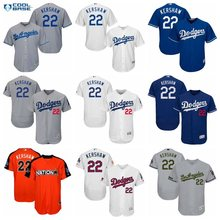 MLB Los Angeles Dodgers Cody Bellinger 35# Clayton Kershaw 22# jerseys for men and women youth baseball jerseys(China)