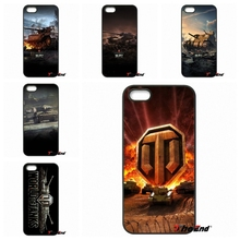For iPhone 4 4S 5 5C SE 6 6S 7 Plus Galaxy J5 J3 A5 A3 2016 S5 S7 S6 Edge world of tanks hard plastic cell phone cases Cover