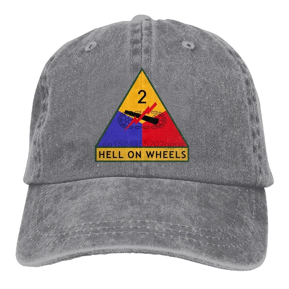 Army 2nd Armored Division Full Color Trucker Hat