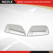 ABS Plastic Chrome Side Mirror Cover Top Half For Ford Escape For Mazda Tribute For Mercury Mariner2008 2009 2010 2011 2012