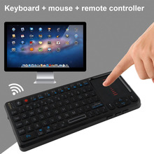 2.4GHz Ultra Mini Wireless Keyboard Mouse Handheld Touchpad Gaming Air Fly Mouse For Android PC TV Projector Notebook Hot Sale