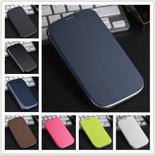 Original Flip PU Leather Back Cover Battery Housing Case for Samsung Galaxy S3 i9300 9300 Mobile Phone Cases