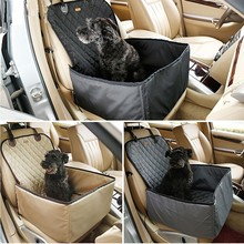 High Quality Waterproof Pet Dog Bulldog Car Single Seat Cover Two Function Pet Blastic With Easy Open or Unfold Pet Carrier Bag