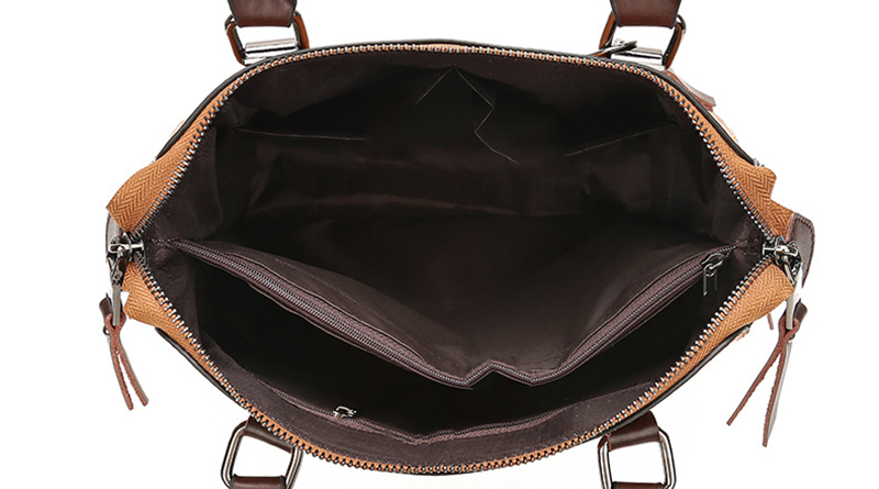 pure leather bag inner